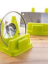 pratiques cuisine pot presentoirs rack multifonction drainent couleur aleatoire