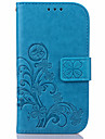 KARZEA™ Clover PatternTPU and PU Leather Case with Stand for S3/S4/S5/S6/S6EDGE/S7/S7EDGE