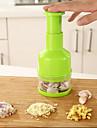 1 pieces Cutter & Slicer For Pour legumes Acier Inoxydable Haute qualite / Creative Kitchen Gadget / Nouveautes