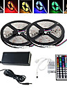 Z®ZDM 10M Waterproof 150X5050RGB LED Strip Light 44Key(1BIN 2)Remote Controller (AC100-240V)