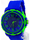 Men\'s Fashion Student Silicone Watch Wrist Watch Cool Watch Unique Watch