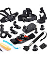 Defery-12-in-1 Outdoor Sports Essentials Kit for GoPro Hero4 Silver Black Hero 4 3+ 3 2