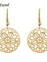 Earring Hoop Earrings Jewelry Women Gold 2pcs Gold