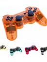 Transparent drahtloser Bluetooth Sixaxis DualShock3 Wiederaufladbare Steuerpult Joypad fuer PS3