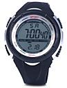 남성 스포츠 시계 손목 시계 디지털 LED 달력 크로노그래프 방수 경보 PU 밴드 블랙