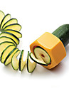 Creative Pencil Sharpener Spiral Slicer Cucumber Food Fruit and Vegetable Peeler Cutplane Easy for Slicer