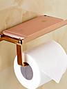Держатель для туалетной бумаги Зеленый Крепление на стену 7*3.5*3.1 inch Медь Современный