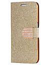 Для Samsung Galaxy S7 Edge Бумажник для карт / Стразы / со стендом / Флип Кейс для Чехол Кейс для Сияние и блеск Искусственная кожа