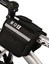 BOI® 자전거 가방 2L자전거 프레임 백 방수 지퍼 / 방습 / 충격방지 / 착용할 수 있는 싸이클 가방 600D 폴리에스터 싸이클 백 사이클링 15*11.5*10