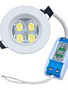 4W LED 스포트라이트 320-400lm lm 따뜻한 화이트 고성능 LED 장식 AC 85-265 V 1개