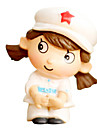White,Gray Model & Building Toy Doll Toy girl
