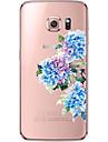 For Samsung Galaxy S7 Edge Transparent / Pattern Case Back Cover Case Flower Soft TPU S7 edge / S7 / S6 edge plus / S6 edge / S6