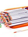 растворимые в воде цвет свинца 24 цвета цветной карандаш раскраска раскраски карандашами живописи