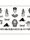 5 타투 스티커 쥬얼리 시리즈 / 애니멀 시리즈 / 꽃 시리즈 / Totem Series / 기타 / 만화 시리즈 Non Toxic / 패턴 / Waterproof / 만화여성 / 남성 / 어른 / Teen 플래시 문신 임시 문신