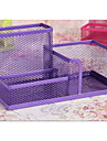 South Korean Stationery Cute Fashion Multifunction Pen Color Metal Mesh Pen Holder Minimalist
