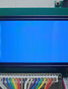 12864 Blue And White LCD Screen LCD LCD Screen With Chinese Font ST7920 Optional 3.3V/5V