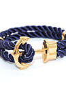 Punk Fashion Men\'s Bracelet Anchor Bracelet Alloy Bracelet Chain Bracelets / Wrap Bracelets Daily