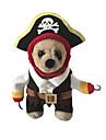 Gatos / Perros Disfraces / Accesorios Rojo / Negro / Blanco Ropa para Perro Invierno / Primavera/Otono Craneos / HalloweenCosplay /