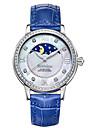 Bestdon® Ladies\'/Women\'s Watch Schoolgirl Fashion Rhinestone Moon Phase Water Resistant  Japanese Quartz Leather Belt Vintage Wristwatch