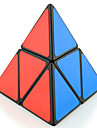 Shengshou® 부드러운 속도 큐브 2*2*2 / 에일리언 전문가 수준 매직 큐브 블랙 페이드 / 아이보리 플라스틱