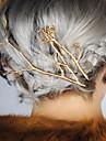 Женский Сплав металлов Заставка-Особые случаи На каждый день на открытом воздухе Заколка для волос Заколки для волос Шпилька 2 предмета