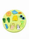 Летом пляж игрушки кекс украшения силиконовые формы шоколада помадки Sugarcraft инструменты полимерной глины конфеты изготовление