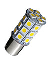 10x morno 1156 BA15S 27smd 5050 levou rv campista luz do carro de backup 7506