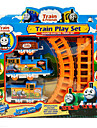 Thomas Train Track DIY Electric Rail Cars Children Educational Model Assembled Fancy Toys