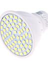4 GU10 Точечное LED освещение MR16 60 SMD 2835 350 lm Тёплый белый / Холодный белый Декоративная AC 220-240 V 1 шт.