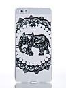 TPU Material Black Elephant Pattern Cellphone Case for Huawei P9Lite/P9/P8Lite