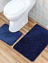 """Коврики для ванной-В соответствии с фото-Полиэстер-40*50CM(15""""W*19""""L)  50*80CM(19""""W*31""""L)"""