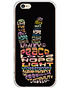 Pattern Cartoon Word/Phrase PC Hard Case Back Cover For Apple iPhone 6s Plus/6 Plus/iPhone 6s/6/iPhone SE/5s/5