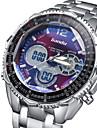 Hombre Reloj Deportivo / Reloj Militar / Reloj de Moda / Reloj de Pulsera Digital / Cuarzo JaponesLED / Calendario / Resistente al Agua /