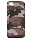 Camouflage Soft PU Leather Material Phone Case for  iPhone 7 7plus 6S 6plus SE 5S