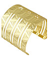 Gold Silver Color Wide Cuff Bracelets Bangles Christmas Gifts