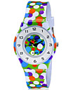 CAGARNY Kids\' Wrist watch Colorful Quartz Plastic Band Dot Candy color Casual Cool Multi-Colored