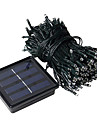 1PC 20M  200Led solar String Light For Holiday Party Wedding Led Christmas Lighting