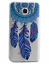 Pour Samsung Galaxy Coque Motif Coque Coque Arriere Coque Fleur Flexible PUT pour Samsung J5 (2016) J5 J3 (2016)