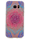 For Samsung Galaxy S8 Plus S6 Color Lace Pattern TPU High Purity Translucent Soft Phone Case S7 S6 edge S5 S4 S3 S8