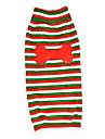Autumn and Witner Large Dog Sweater Stripe Bone Dog Clothes