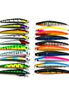 20 штук Мормышки в наборах многоцветный 8.5G;11.2G г Унция,9.5 CM:11.5CM mm дюймовый,Мягкие пластиковые Морское рыболовство