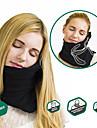 1 Pca. Travesseiro de ViagemPortatil Dobravel Ajustavel Descanso em Viagens Lavar a Maquina Confortavel Apoio para Pescoco Alivia pescoco