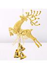 20 см Санта лося рождественские колокола висят украшения рождества украшения рождества окна украшения партии реквизит