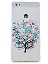 for Huawei P9 LITE P8 Lite Butterfly Tree Pattern High Permeability TPU Material Phone Case Huawei P9 LITE P8 Lite Y5II Y6II