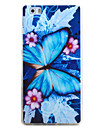 For HUAWEI P9 P8 Lite Case Cover Butterfly Pattern TPU Material Phone Shell for Y5C Y6 Y625 Y635 5X 4X G8