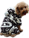 Dog Hoodie Clothes/Jumpsuit Pajamas Dog Clothes Cute Keep Warm Reindeer Gray Coffee Blue Blushing Pink
