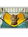 Кошка Собака Кровати Животные Коврики и подушки Компактность Красный Зеленый Синий Розовый Светло-Розовый