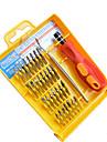 32 em 1 chave de fenda 32pcs kit de combinacao telefone celular ferramenta portatil desmontar chave de fenda chave de fenda
