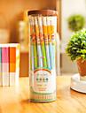 Μολύβι Στυλό Χρωματιστά μολύβια Στυλό,Ξύλο Βαρέλι Τυχαία Χρώματα μελάνι Χρώματα For Σχολικές προμήθειες Προμήθειες γραφείου Πακέτο pen