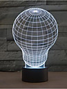 Gluehbirne Touch-Dimm-3D LED-Nachtlicht 7colorful Dekoration Atmosphaere Lampe Neuheit Beleuchtung Weihnachtslicht